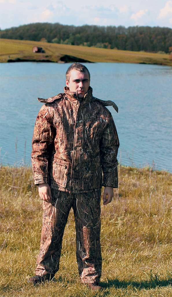 самый популярный костюм для рыбалки