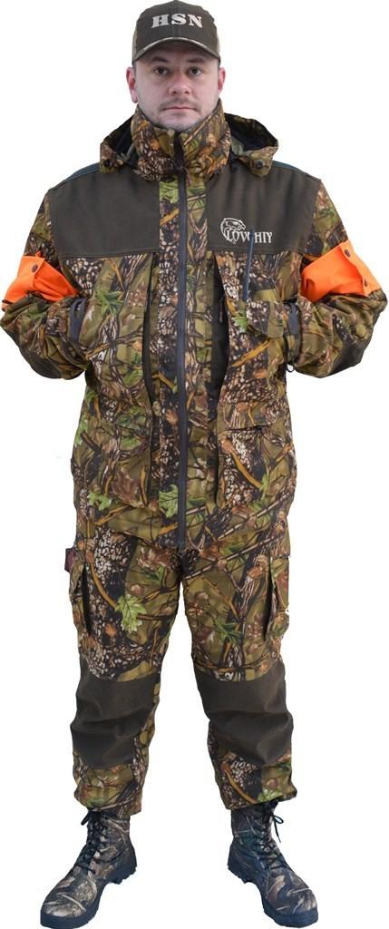 костюм демисезонный для охоты и рыбалки с полукомбинезоном