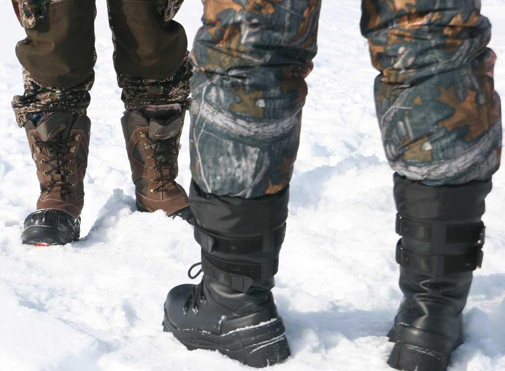 Зимняя обувь для туризма